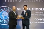 '2015 Frost & Sullivan Company of the Year Award'