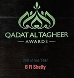 CEO of the Year by Qadat Al Tagheer Awards