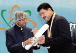Dr. B.R. Shetty conferred the Pravasi Bharatiya Samman Award